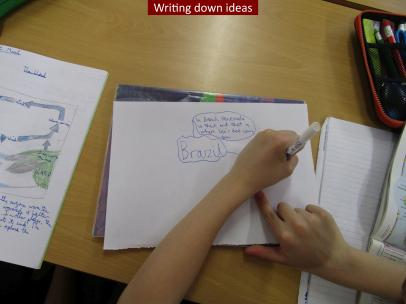 10 Writing down ideas
