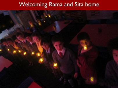 11 Welcoming Rama and Sita home