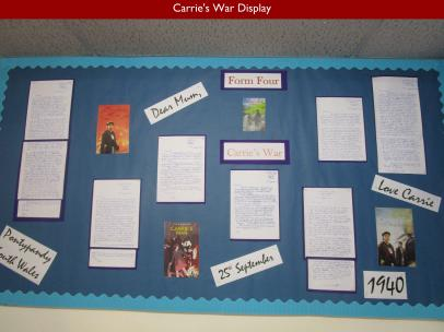12 Carries War Display