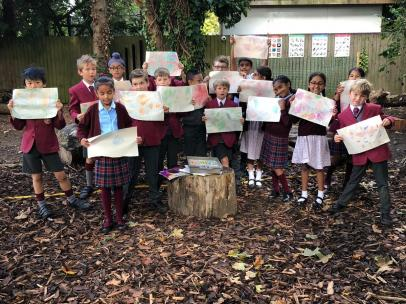 F4 art rubbings