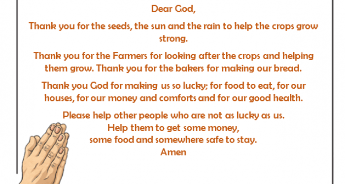 A Prayer for Harvest by Form 1 (1RG)
