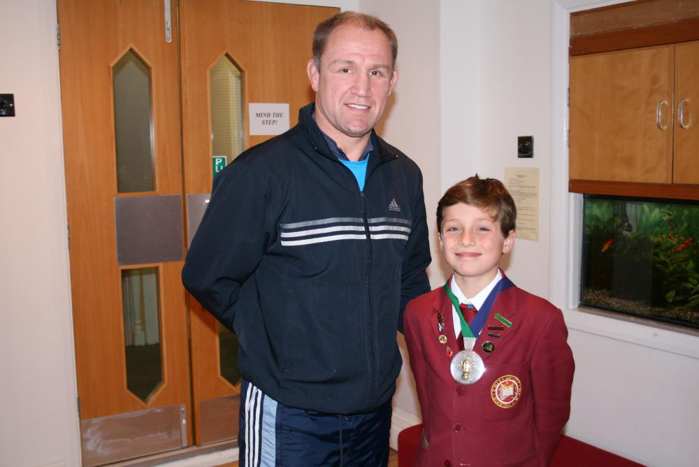 Meeting Rugby International Player Neil Back