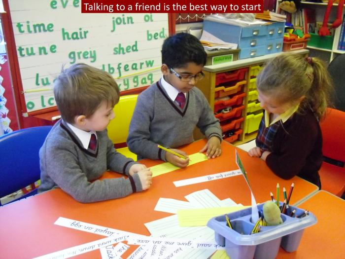 3 Talking to a friend is the best way to start