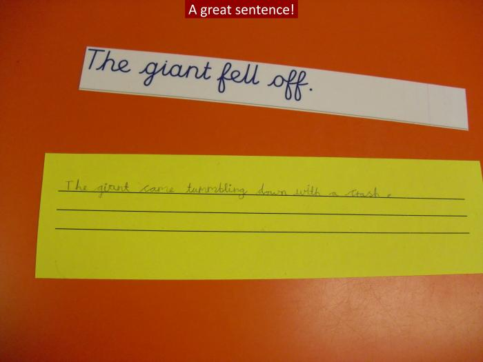 9 A great sentence