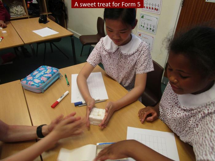 Sweet Form 5 and the Awesome Maths Lesson