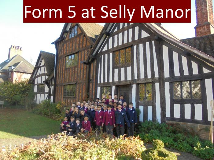 1 All of Form 5 at Selly Manor
