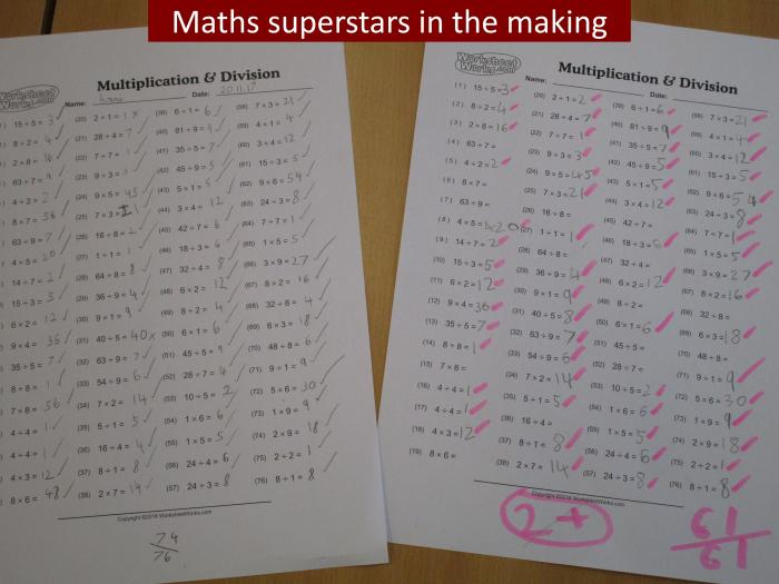 1 Maths Superstars in the making