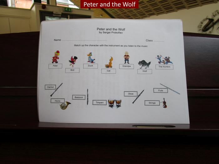 1 Peter and the Wolf