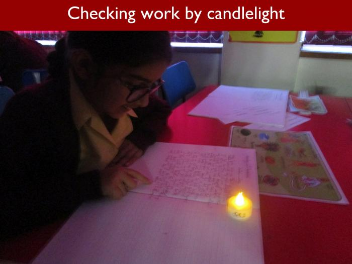 10 Checking work by candlelight