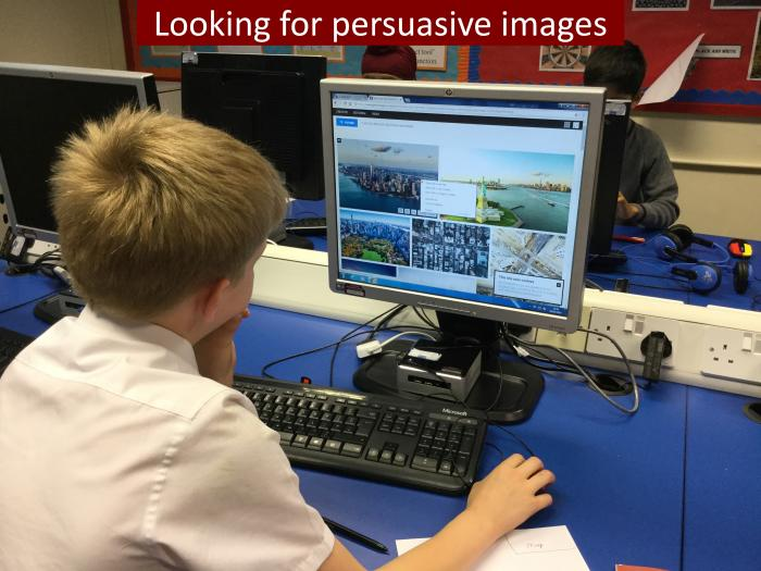 10 Looking for persuasive images