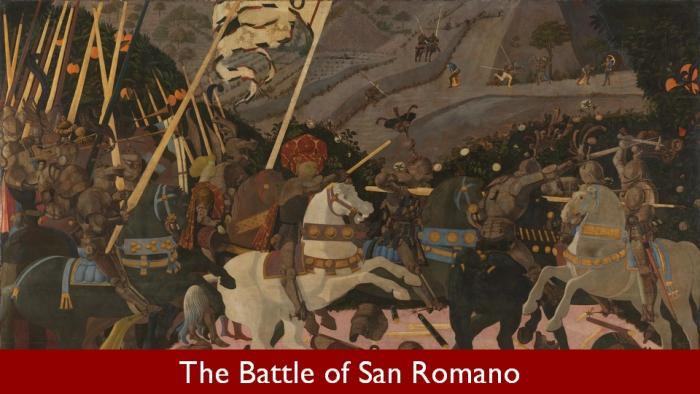 10 The Battle of San Romano