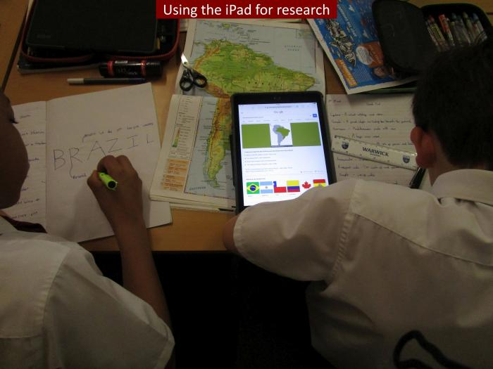14 Using the iPad for research