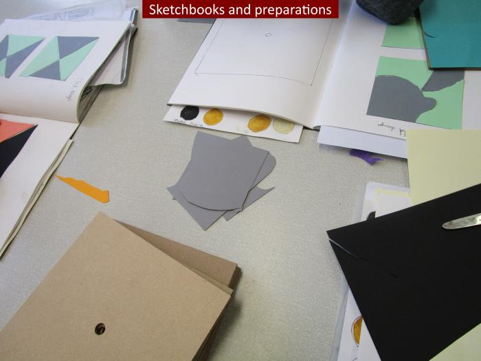 2 Sketchbooks and preparations