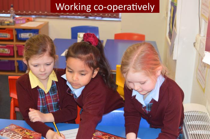 2 Working co operatively