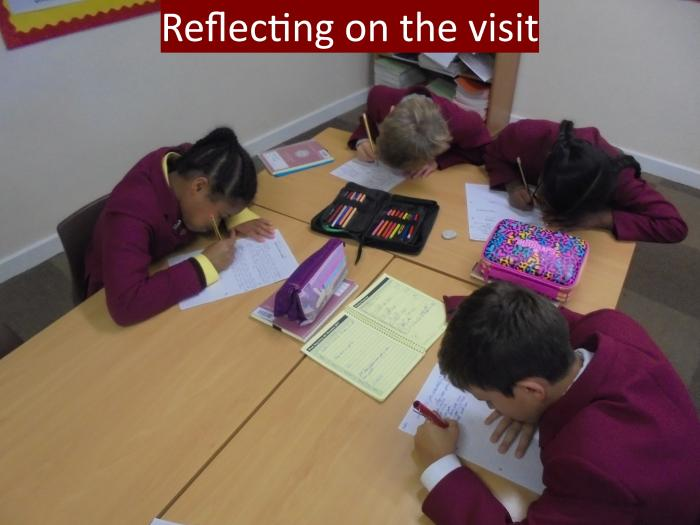 3 Reflecting on the visit