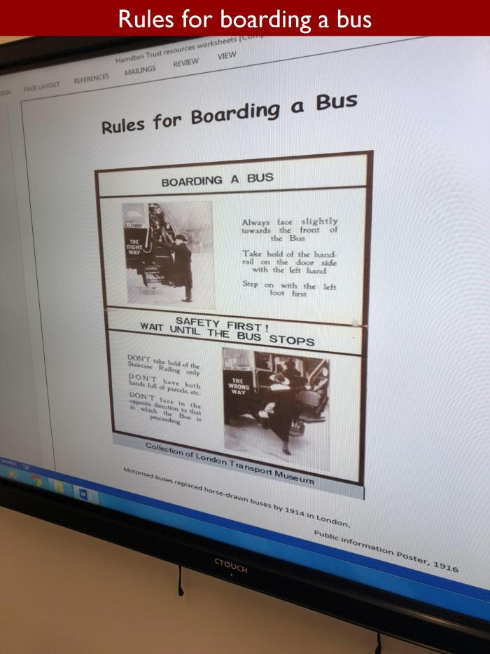3 Rules for boarding a bus