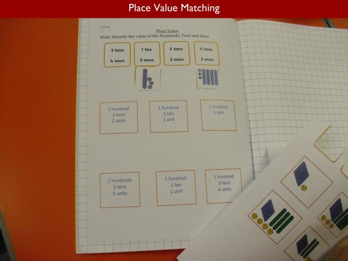 4 Place Value Matching