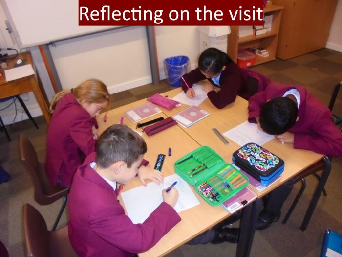 4 Reflecting on the visit