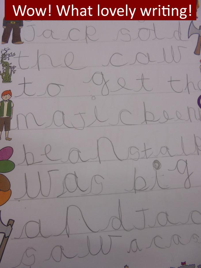 4 Wow What lovely writing