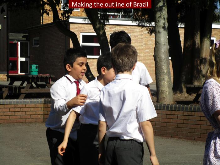 5 Making the outline of Brazil