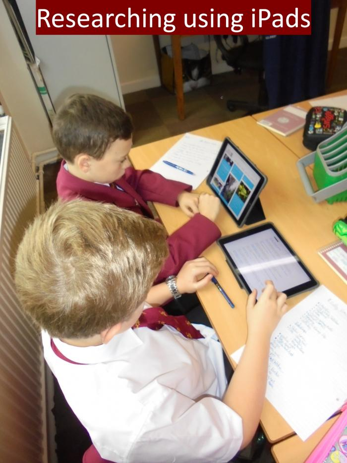 5 Researching using iPads