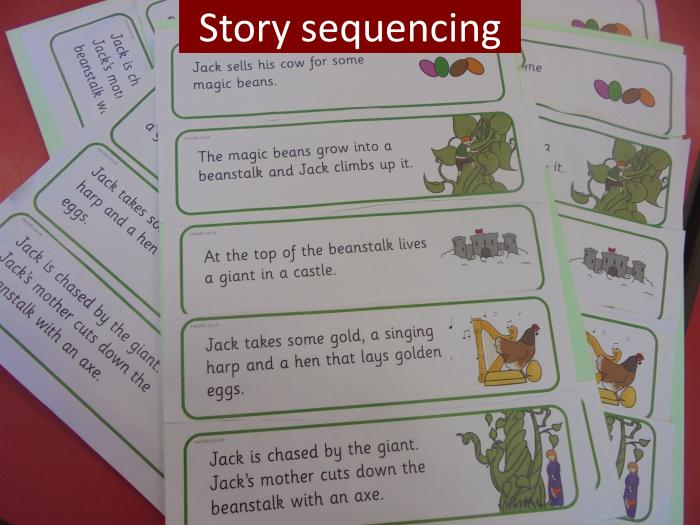 5 Story sequencing