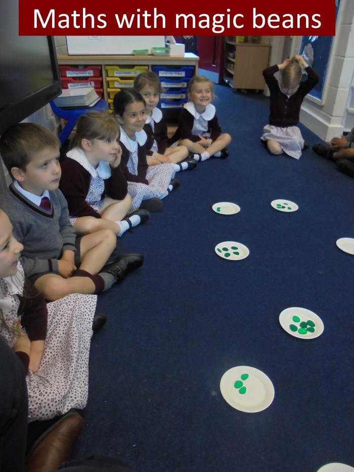 6 Maths with magic beans