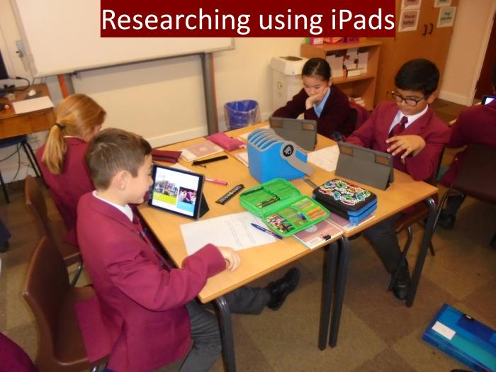 6 Researching using iPads
