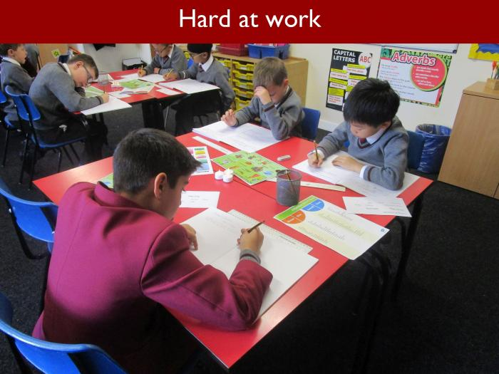 7 Hard at work