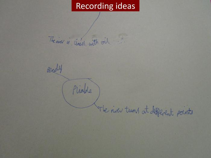 7 Recording of ideas