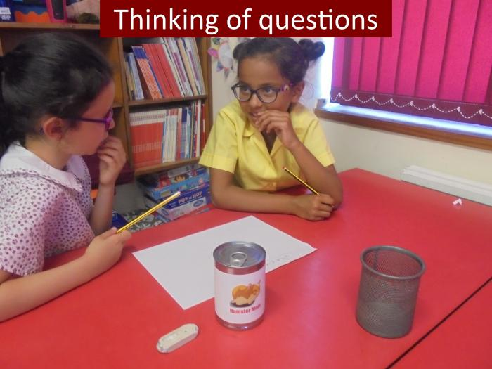 7 Thinking of questions