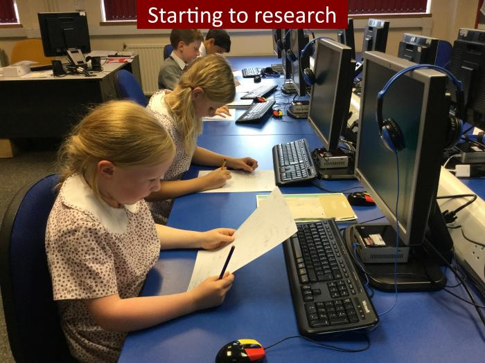 8 Starting to research
