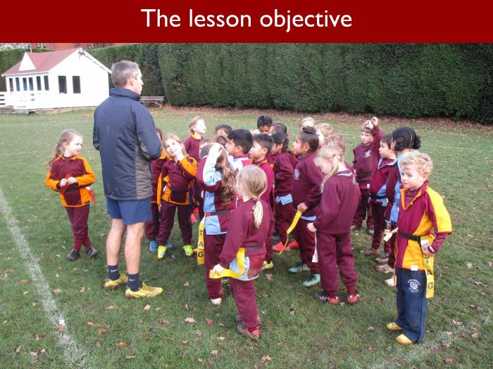 Blog Form 1 Rugby 1 The lesson objective