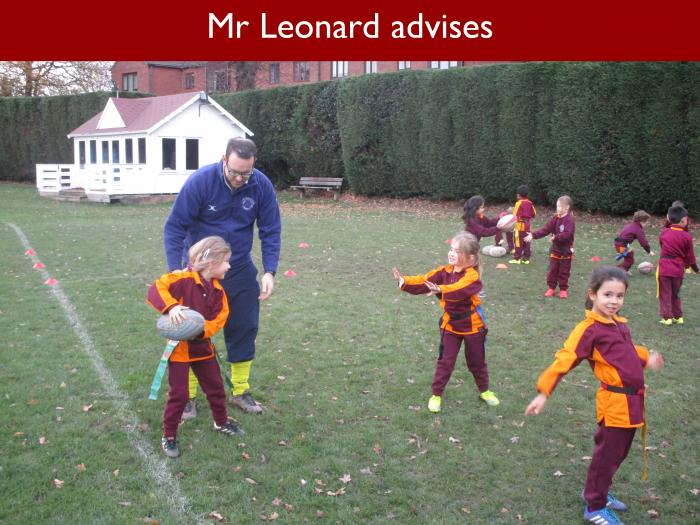 Blog Form 1 Rugby 6 Mr Leonard advises