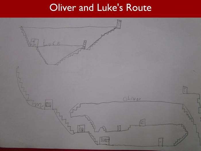 Blog Form 3 Scholars 3 Oliver and Lukes Route