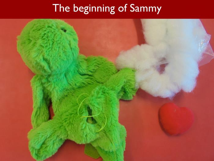 Blog RAH Dinosaurs 10 The beginning of Sammy
