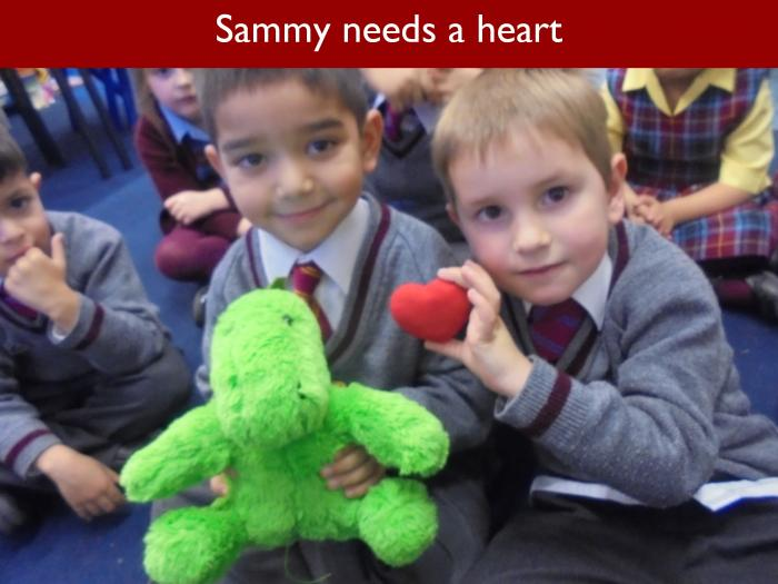 Blog RAH Dinosaurs 12 Sammy needs a heart