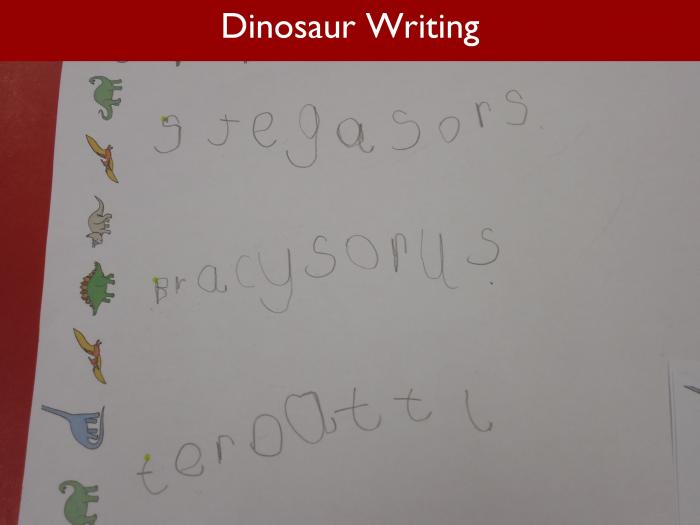 Blog RAH Dinosaurs 20 Dinosaur Writing