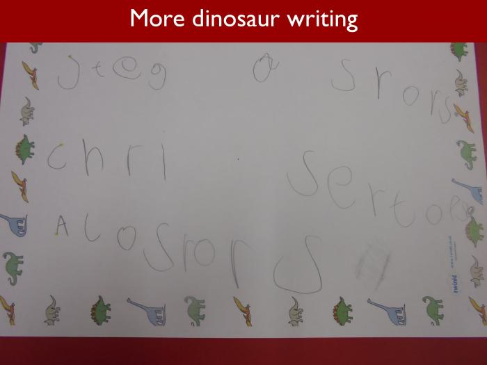 Blog RAH Dinosaurs 21 More dinosaur writing