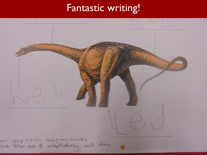 Blog RAH Dinosaurs 23 Fantastic writing