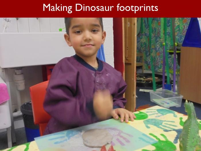 Blog RAH Dinosaurs 40 Making Dinosaur footprints