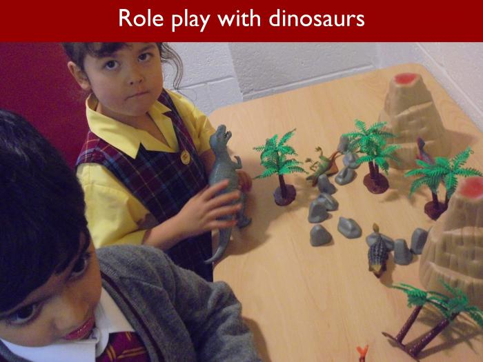 Blog RAH Dinosaurs 6 Role play with dinosaurs
