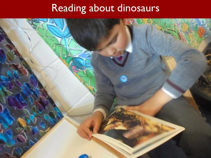 Blog RAH Dinosaurs 8 Reading about dinosaurs