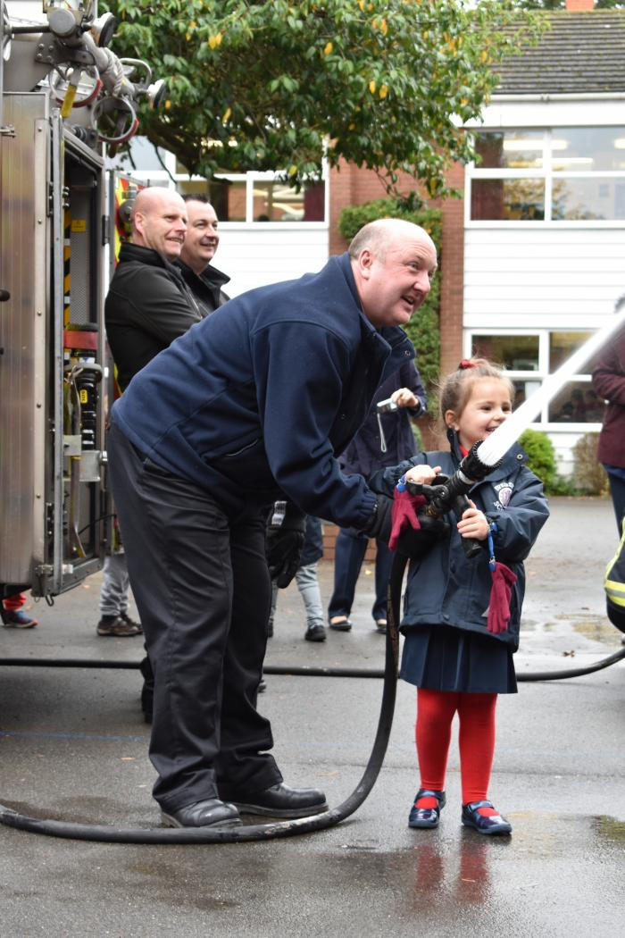 Solihull Fire Service visit Nursery and Kindergarten